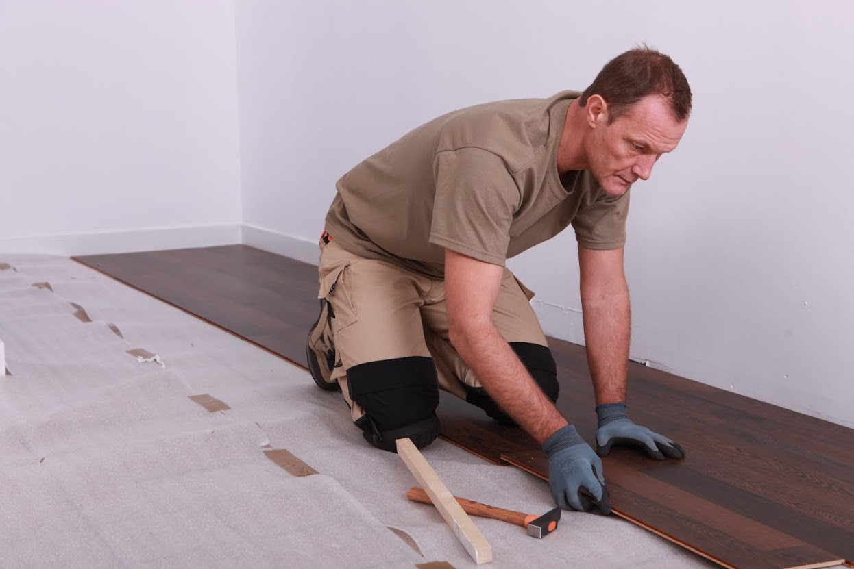 Having to uplift flooring coverings