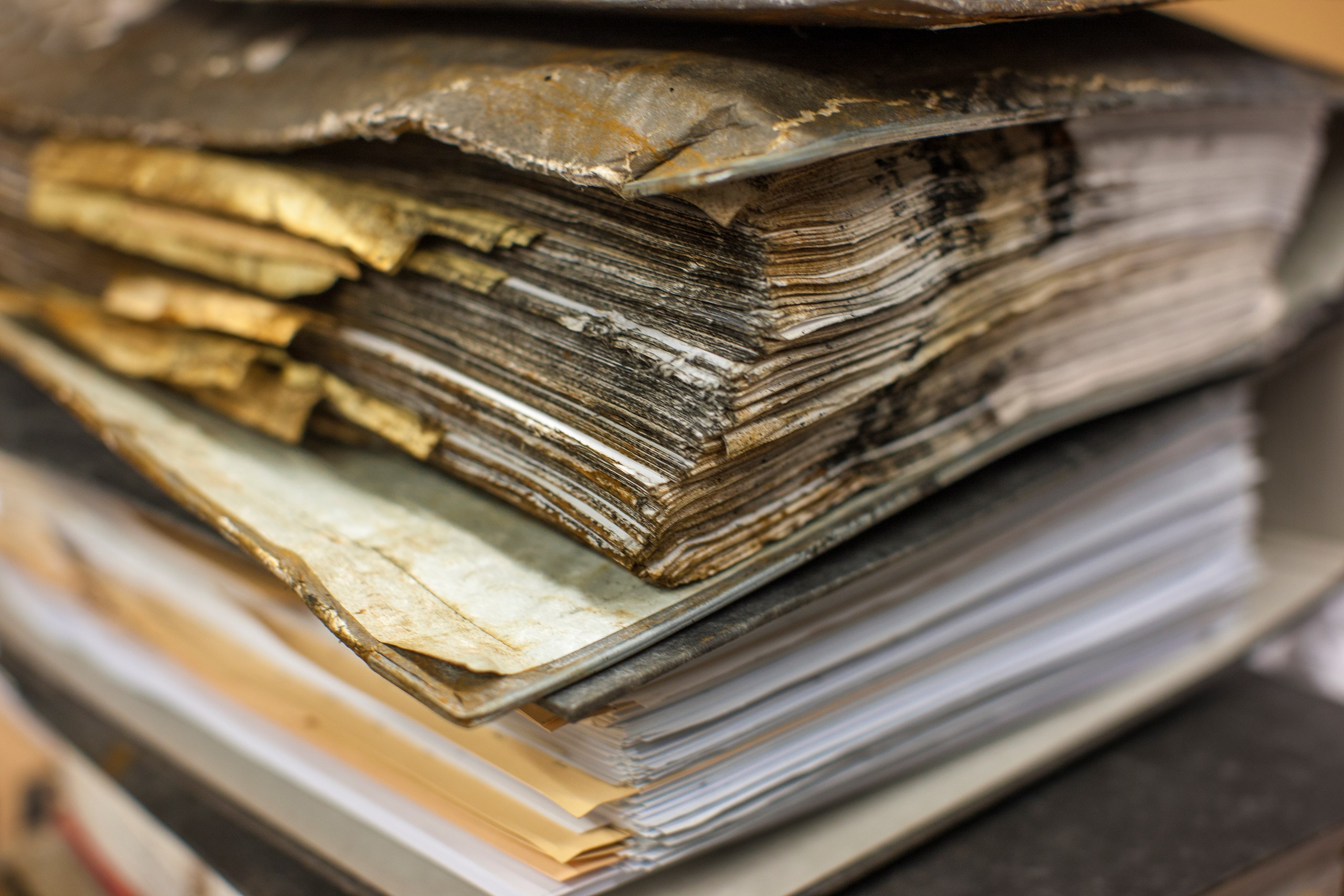 How HEPA vacuums help restore documents