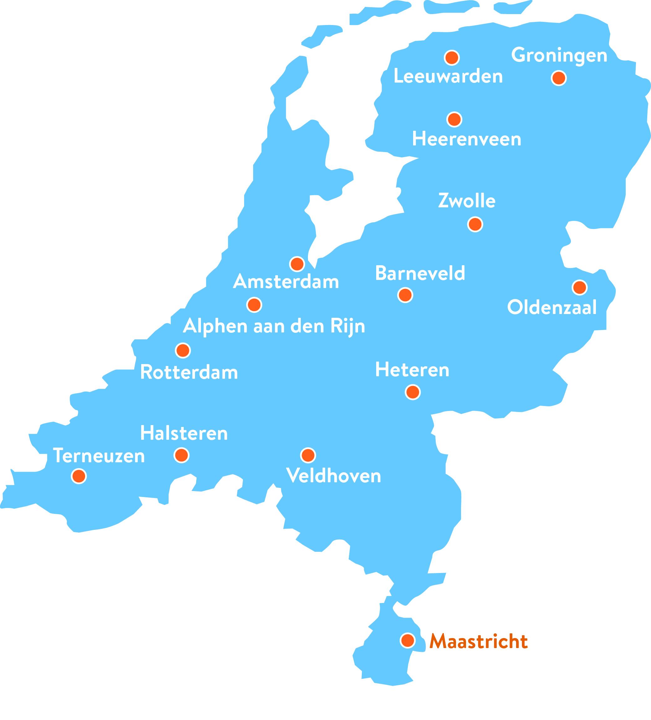 Polygon Nederland kantoren