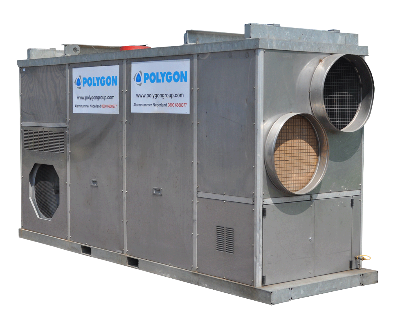 Polygon gasgestookte heater MOH 385RHP