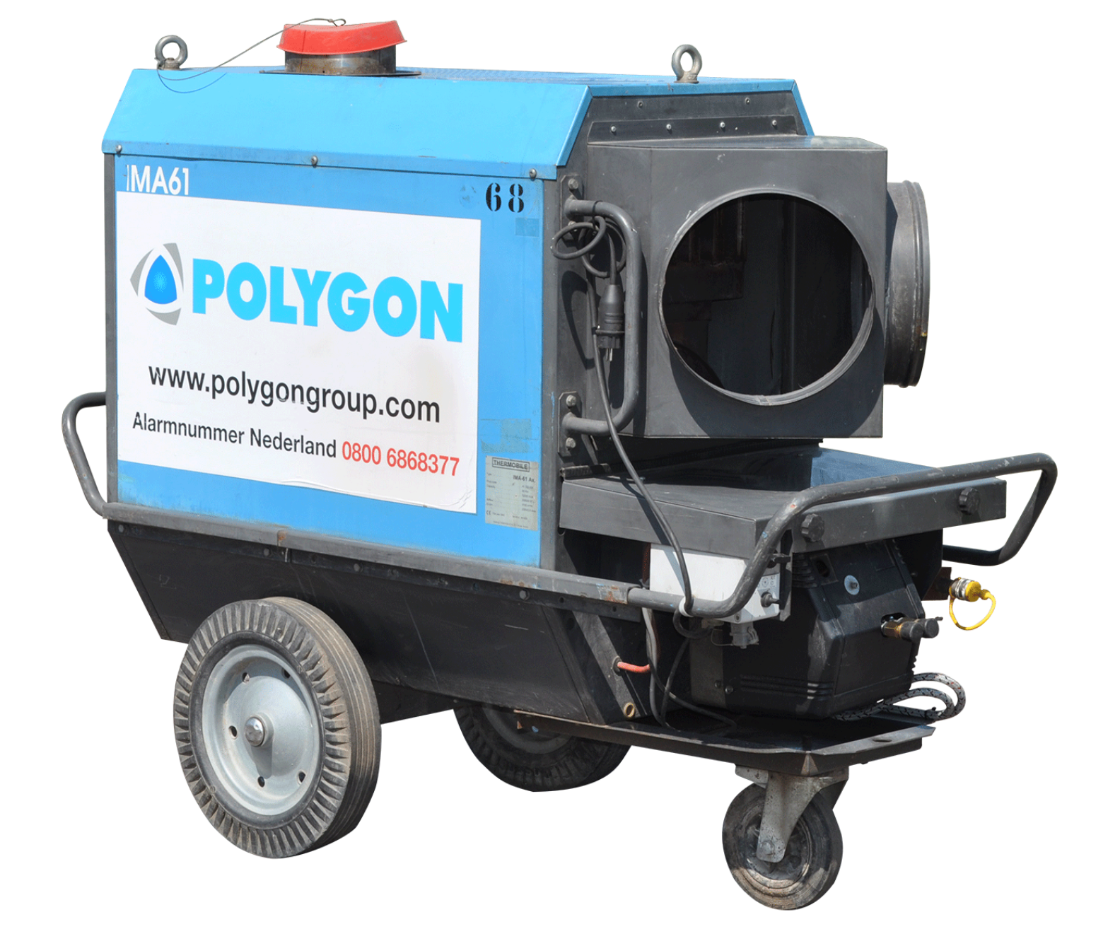 Polygon heater MOH-61