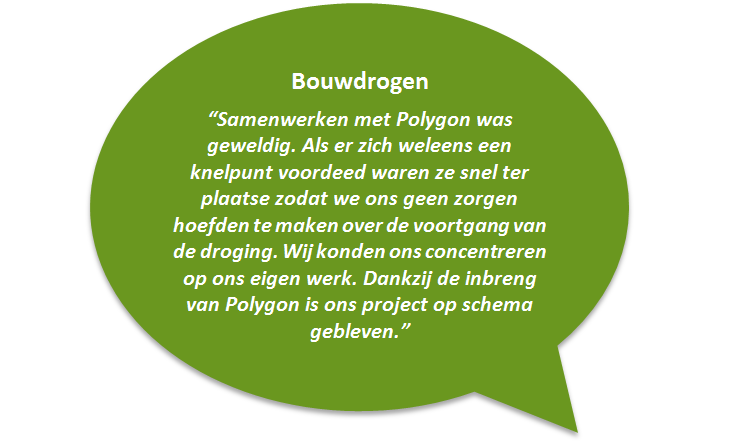 Testimonial bouwdrogen door Polygon